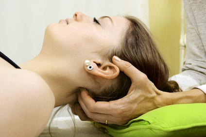 Osteopathie von Nacken und Halswirbel